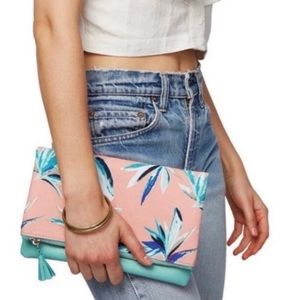 Rachel Pally Tropical Reversible Clutch